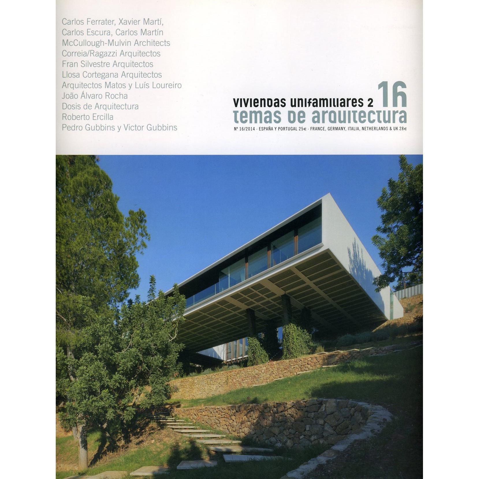 Temas de Arquitectura nº 16. 2014.