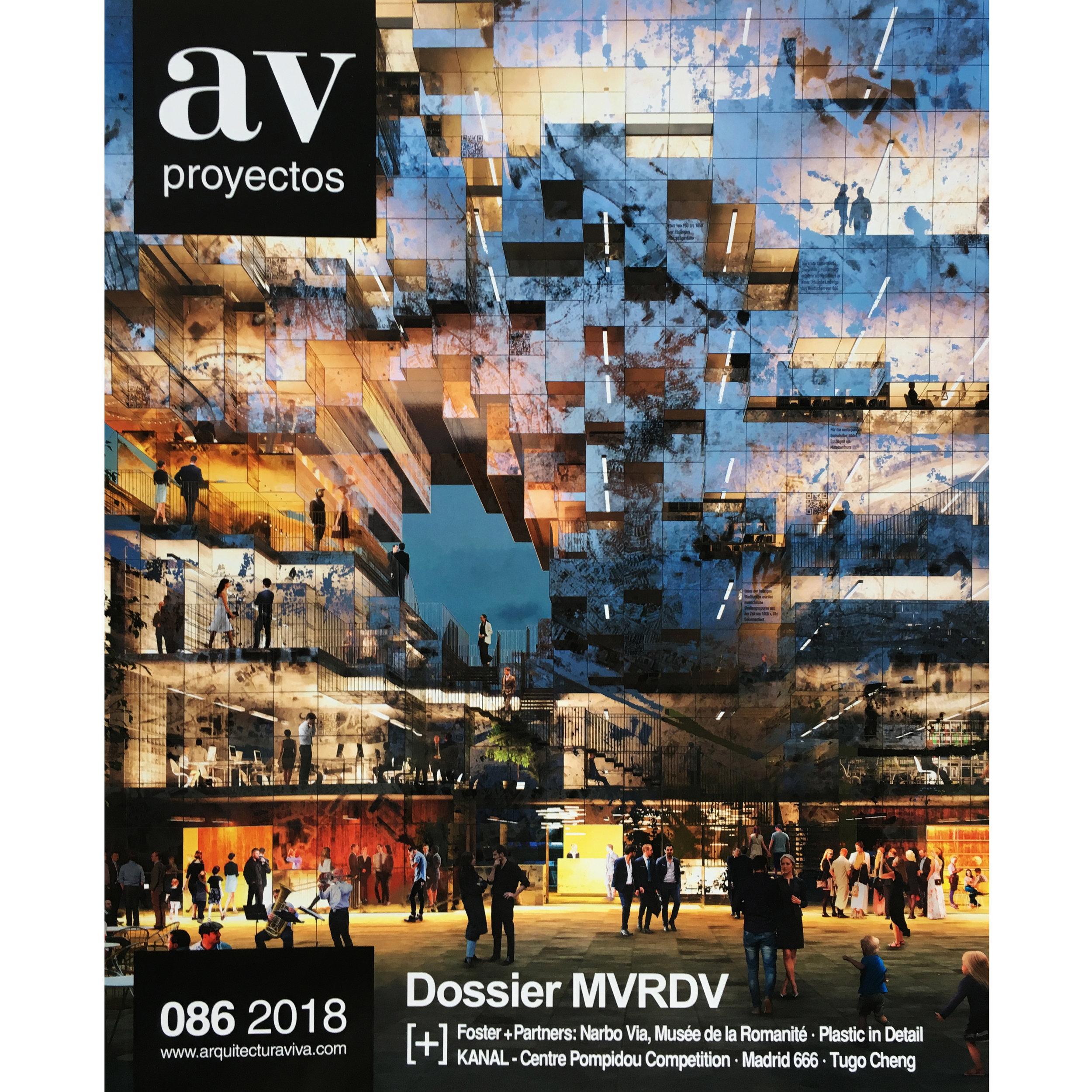 AV Proyectos 86. 2018 (Printed Publication)