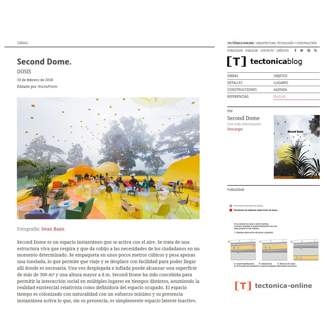 Tectónica blog. 2018