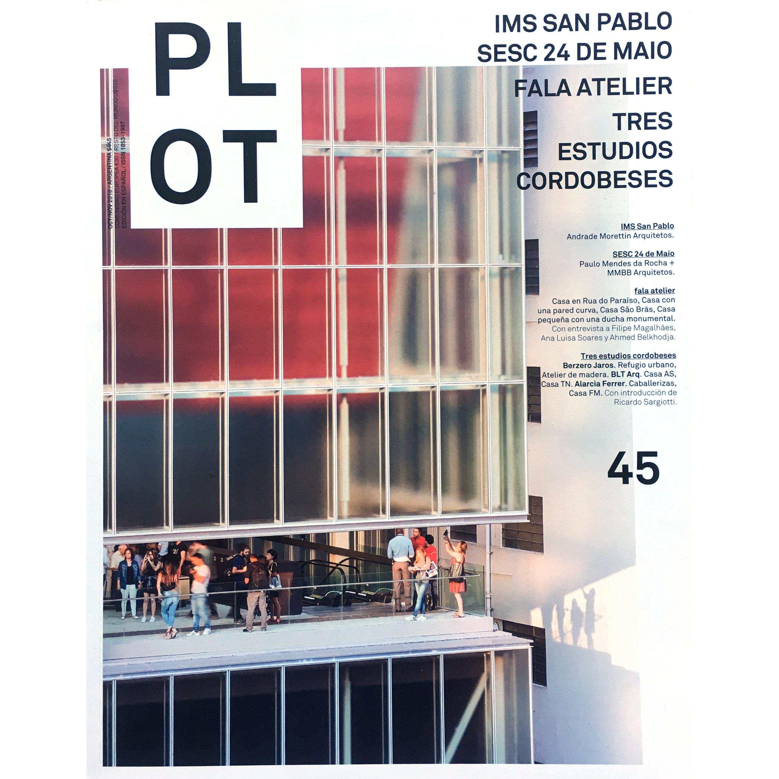 PLOT 45. 2019 ( Printed Publication)
