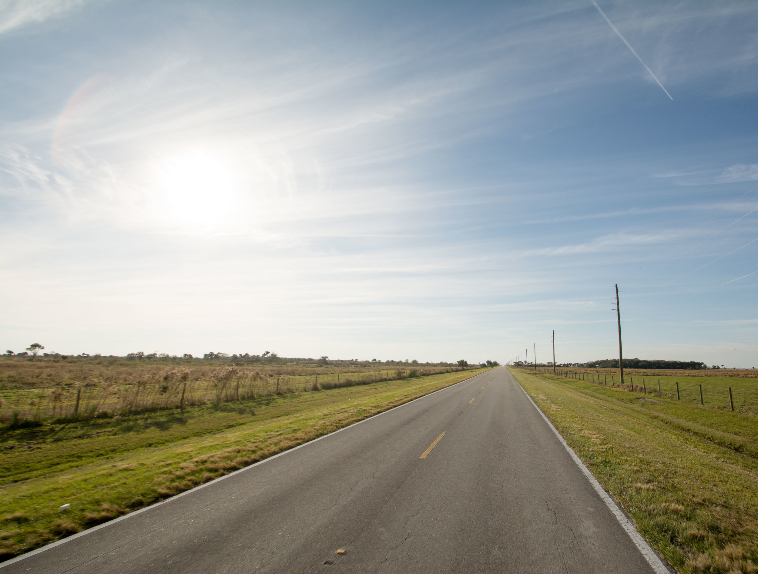 As development encroaches on rural land, it becomes harder to find two-lane roads surrounded by farm land in much of Florida.