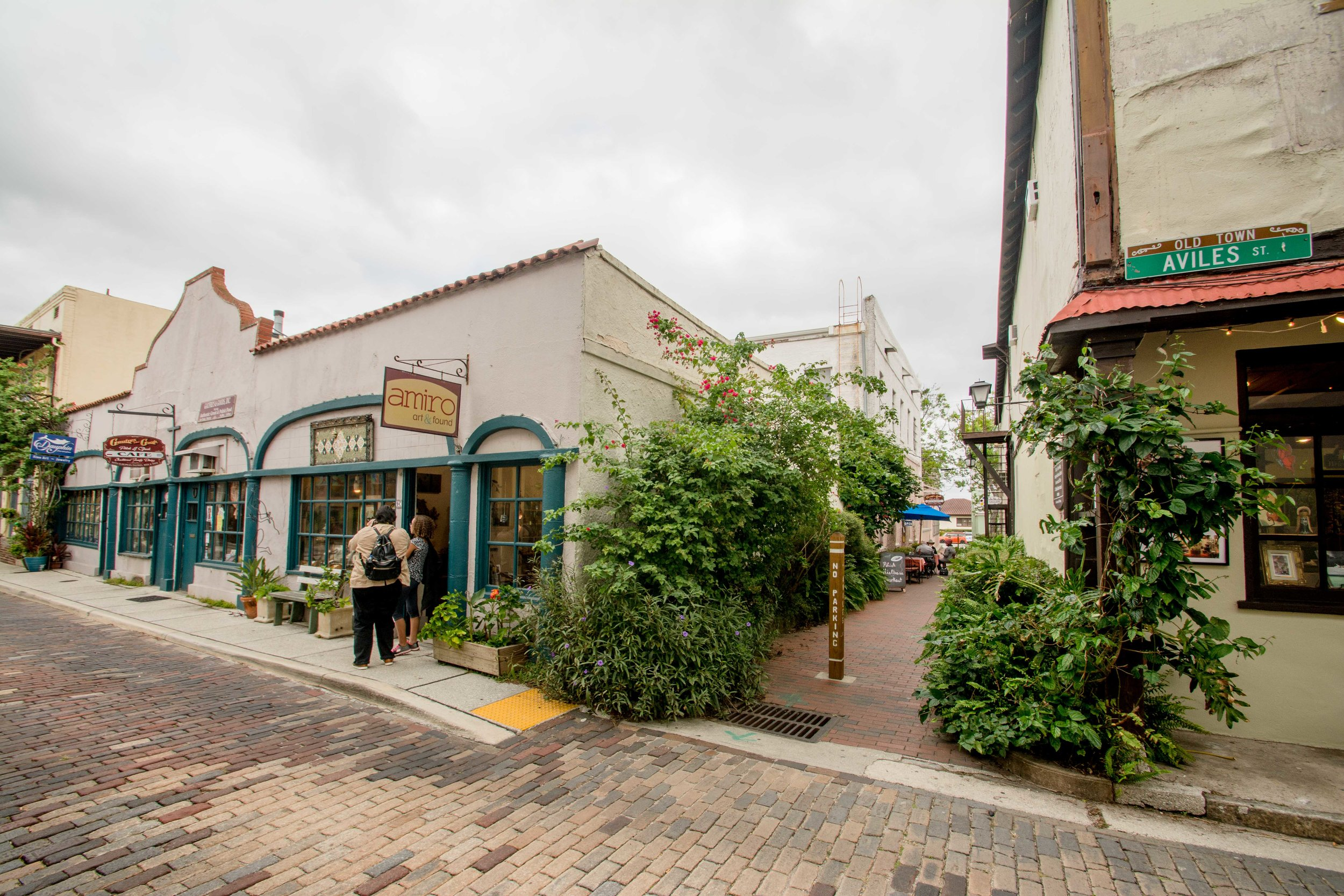 St. Augustine's narrow streets, sidewalk cafes, and European charm attract thousands of tourists annually. Read more to learn just what makes this place so attractive to people, amid a state built for cars.