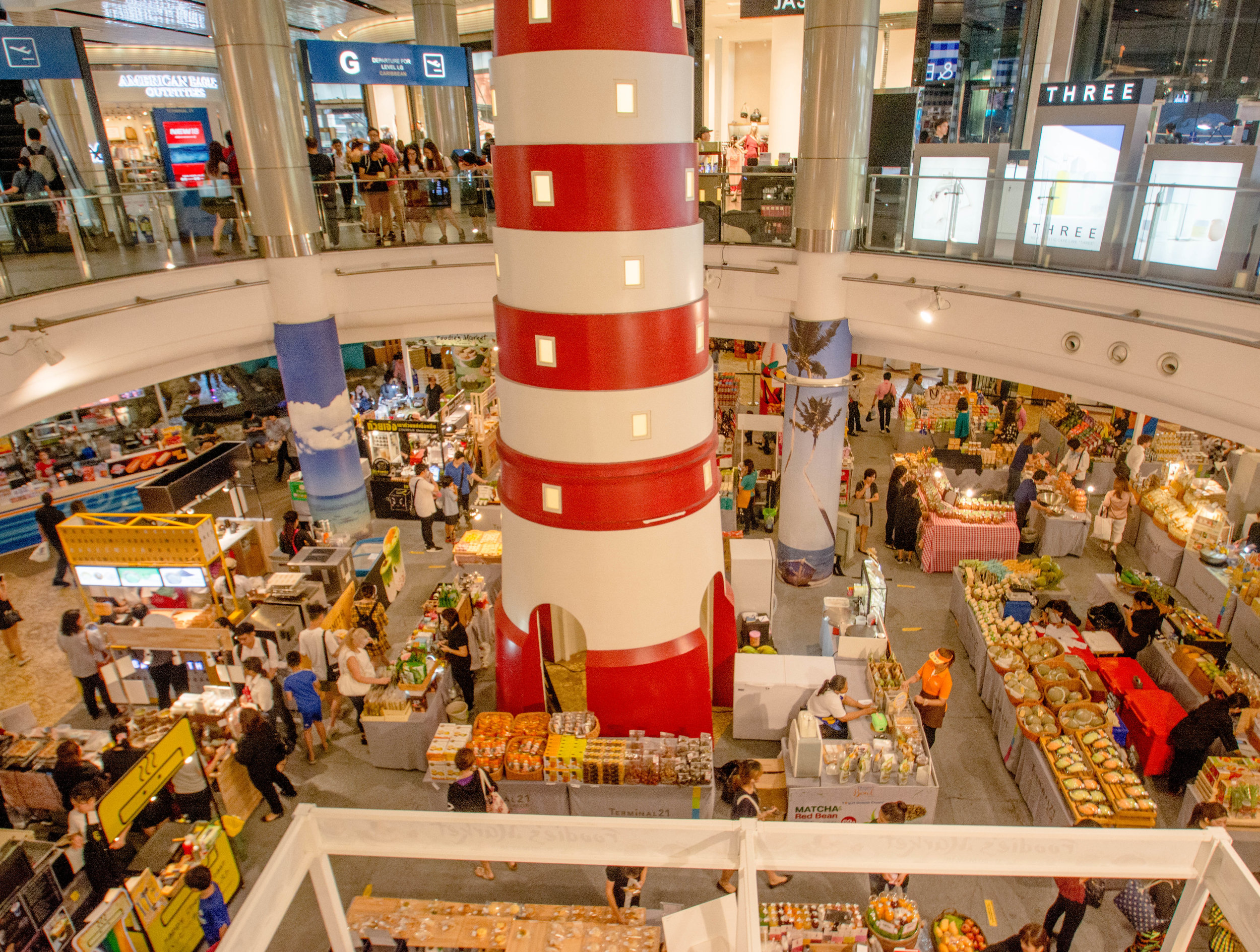 """Foodie's Market,"" ground floor of Terminal 21 Shopping Mall, Asok District"
