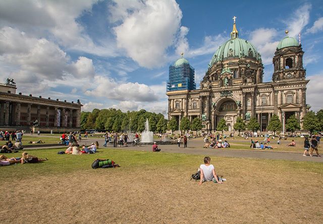 Many of Berlin's public spaces succeed not only by drawing residents and visitors in, but by inviting them—in Jan Gehl's words—to linger. On long summer days, civic landmarks, beer gardens, theater performances, and swing dancing are all on display for those who choose to stay a while.
