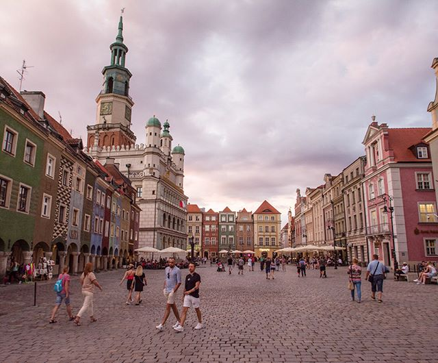 Many of the buildings of Poznań, Poland—including those in its centuries-old historic town center—were obliterated during World War II. Countless structures, and historic features such as the Renaissance town hall and merchant shop houses, are meticulous reconstructions undertaken largely by locals in the years following the war. Such preservation of historic urban spaces has been a boon for the university town's tourism sector, and is an important component of the city's much-lauded livability.