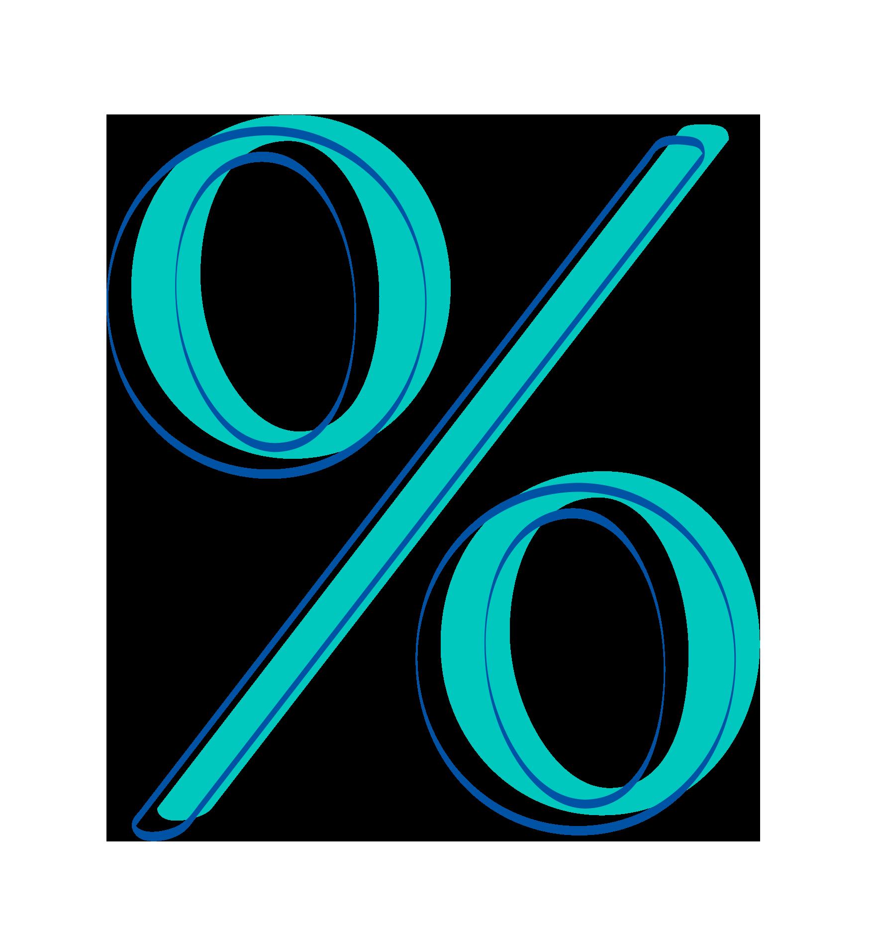 Walters & Company percentage Icon