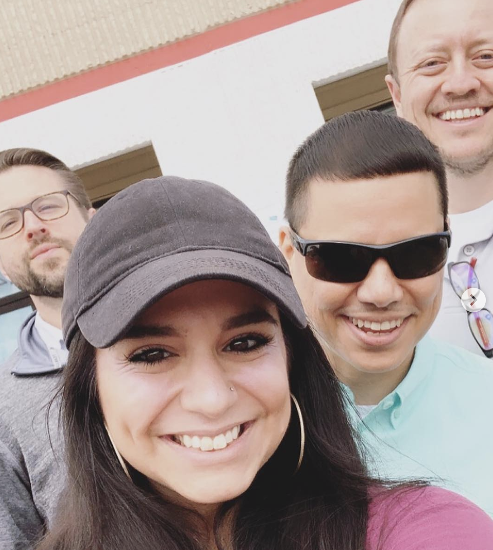 Team Volunteering at Blessed Angels Community Center, March 2019