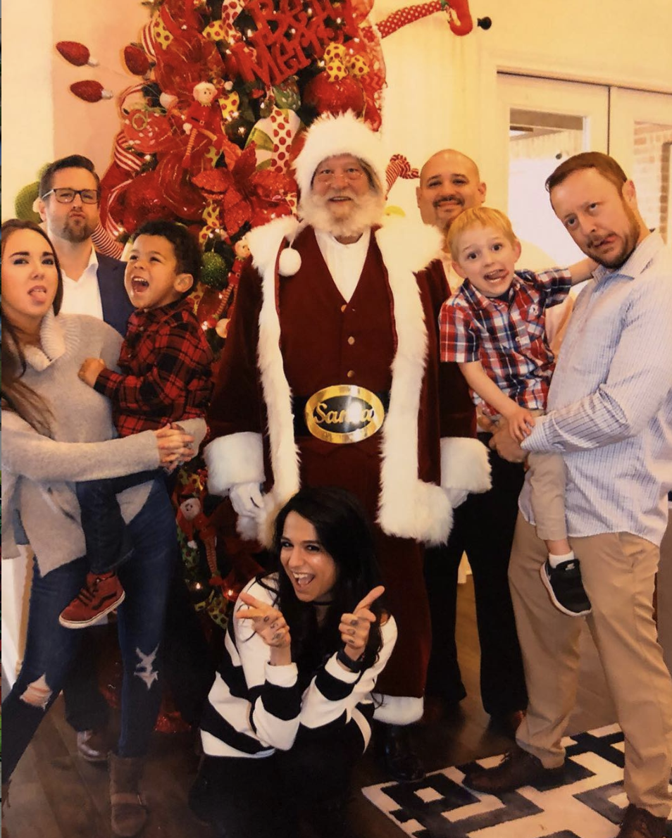 Cookies with Santa Client Appreciation Event, December 2018