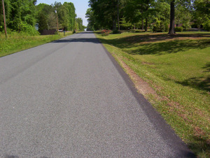 Little Mountain, Newberry County, SC - Road paved with STALITE lightweight aggregate near little mountain in Newberry County, SC, using the new SCDOT specifications