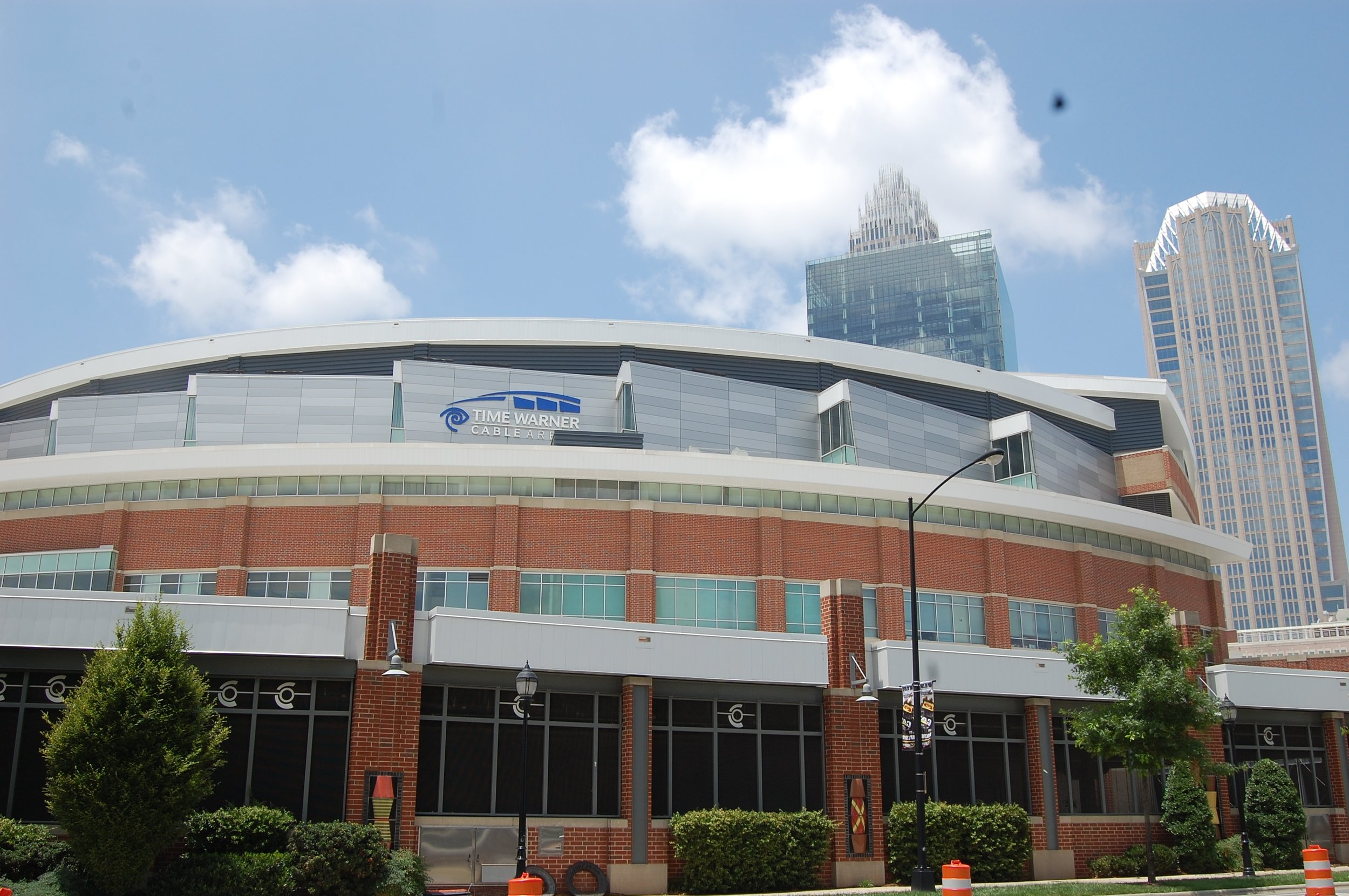 Time-Warner Arena - The Time-Warner Cable Arena project is 780,000 sq. ft. and used 500,000 lightweight concrete masonry units