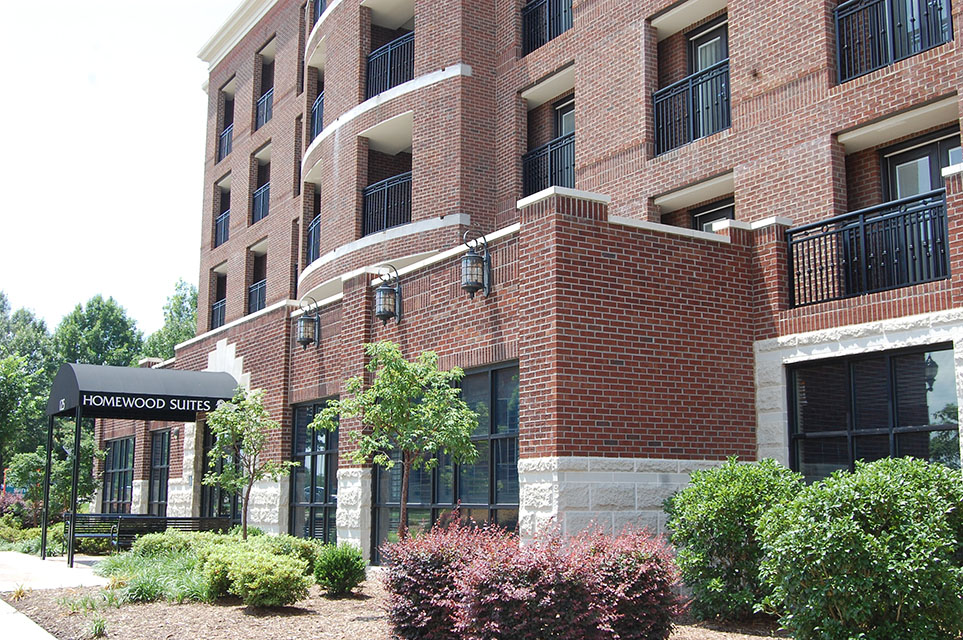 Homewood Suites, Davidson, NC - Architect: The Lawrence Group General Contractor: Global Building Company