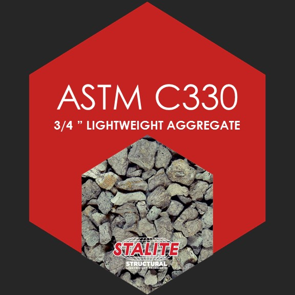 "ASTM C330 3/4""    Standard Specification for Lightweight Aggregates for Structural Concrete"