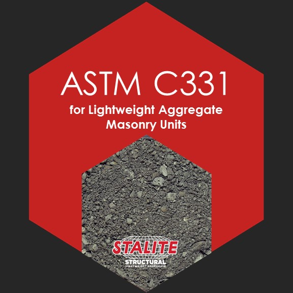 ASTM C331    Standard Specification for Lightweight Aggregate Masonry Units