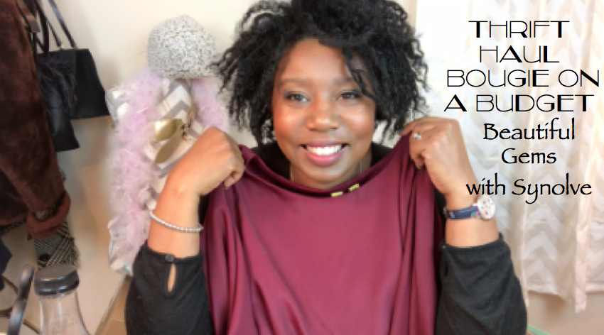 """BEAUTIFUL GEMS: IN MY VERY FIRST THRIFT HAUL OF 2018, I'm bringing you BOUGIE ON A BUDGET! This year, we're getting everything we want - ON A BUDGET OF COURSE! FROM DESIGNER PURSES, CLOTHING, AND SHOES, we're NO LONGER """"FAKING IT TIL WE MAKE IT!"""" WE'RE MAKING IT! We're walking in luxury and prosperity by shopping FRuGAL and SHopping SMart! From makeup to Fashion to Nails, Lashes, and everything in between, we're BOUGIE ON A BUDGET ALL YEAR LONG!   https://www.youtube.com/watch?v=RCAtDCFJ4DU&t=87s   xoxo  Synolve"""