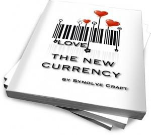 Love: The New Currency will help you create ways in your community and in your life to attain more love and express more love to everyone you meet.    https://www.synolve.com/theboutiqueshop/lovethenewcurrency
