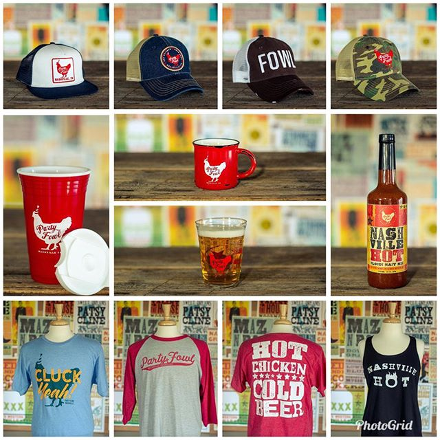 Just in time for the holidays....we've launched our new website! Now all of our merchandise is available online! Visit us at https://www.partyfowl.com/shop-online/