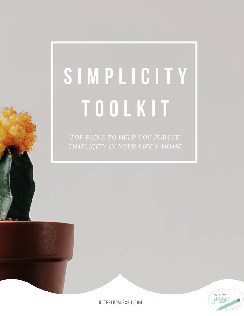 A collection of the best tools, plus some tips & tricks, to help you simplify your home & life to create more peace! -