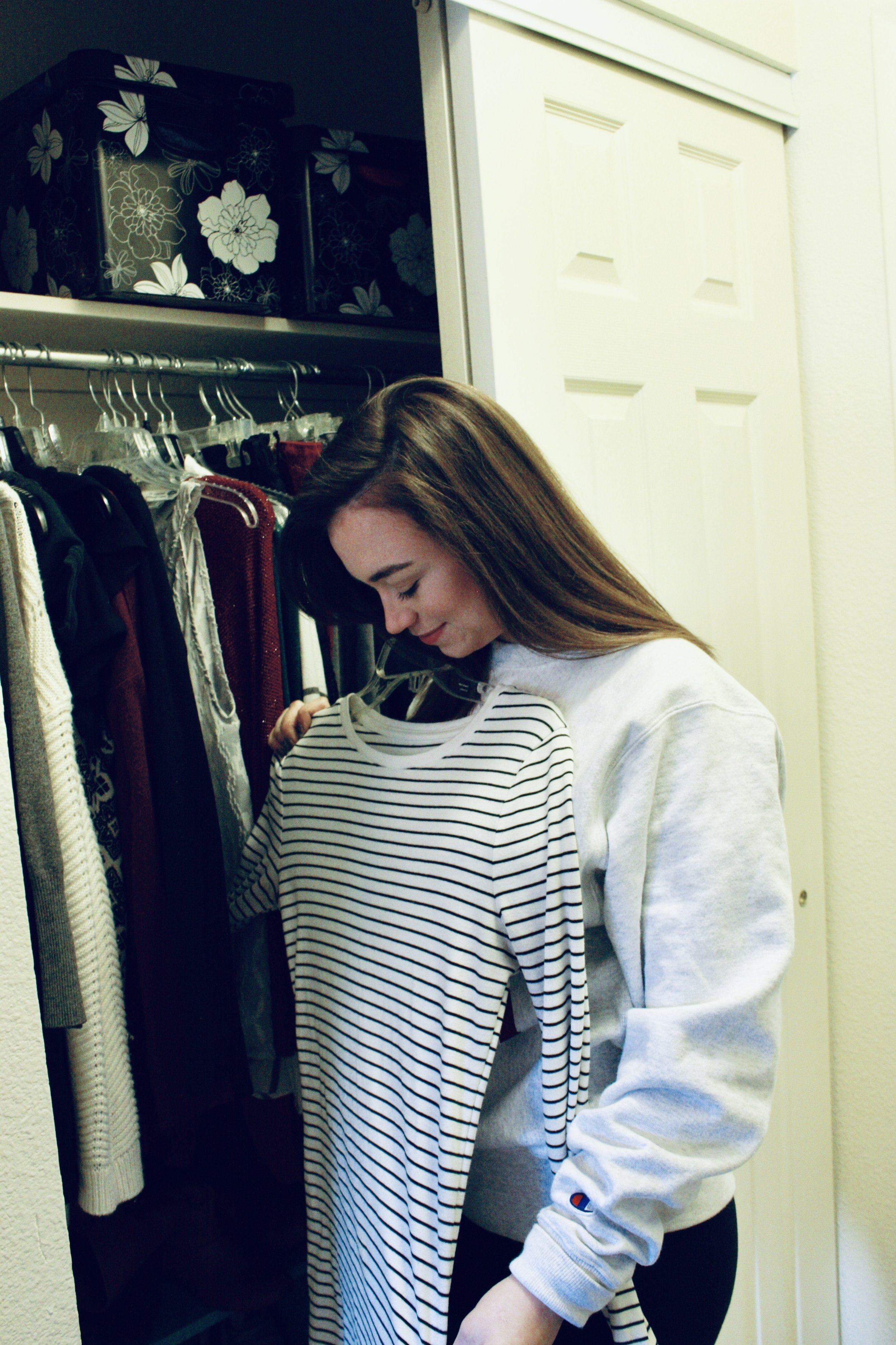 (I've put together a bonus resource at the end of this post that will help you take the first step towards a closet that makes getting ready a snap!)