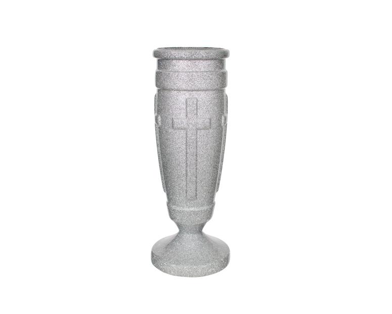 Regal Cross (Silver Gray)