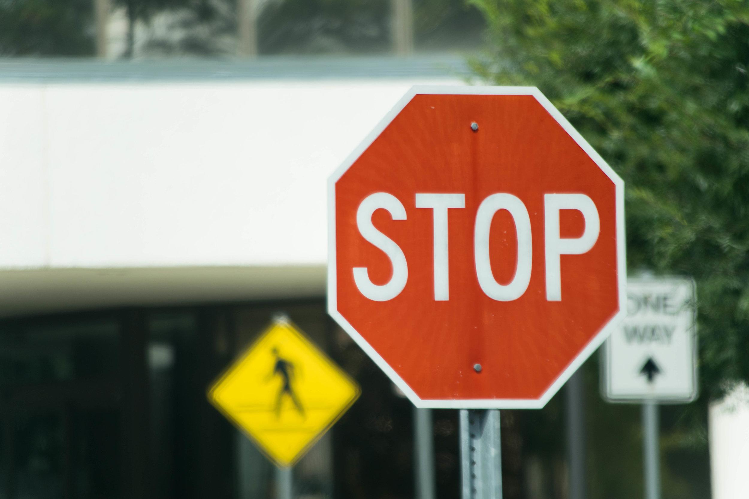 Signs & Traffic Signals