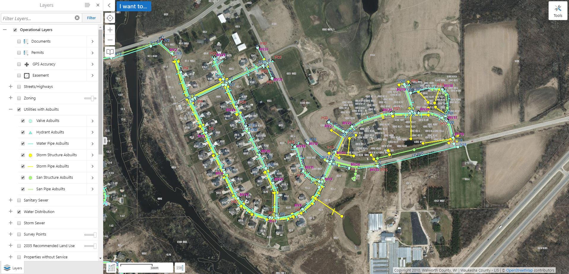 As-Built Map