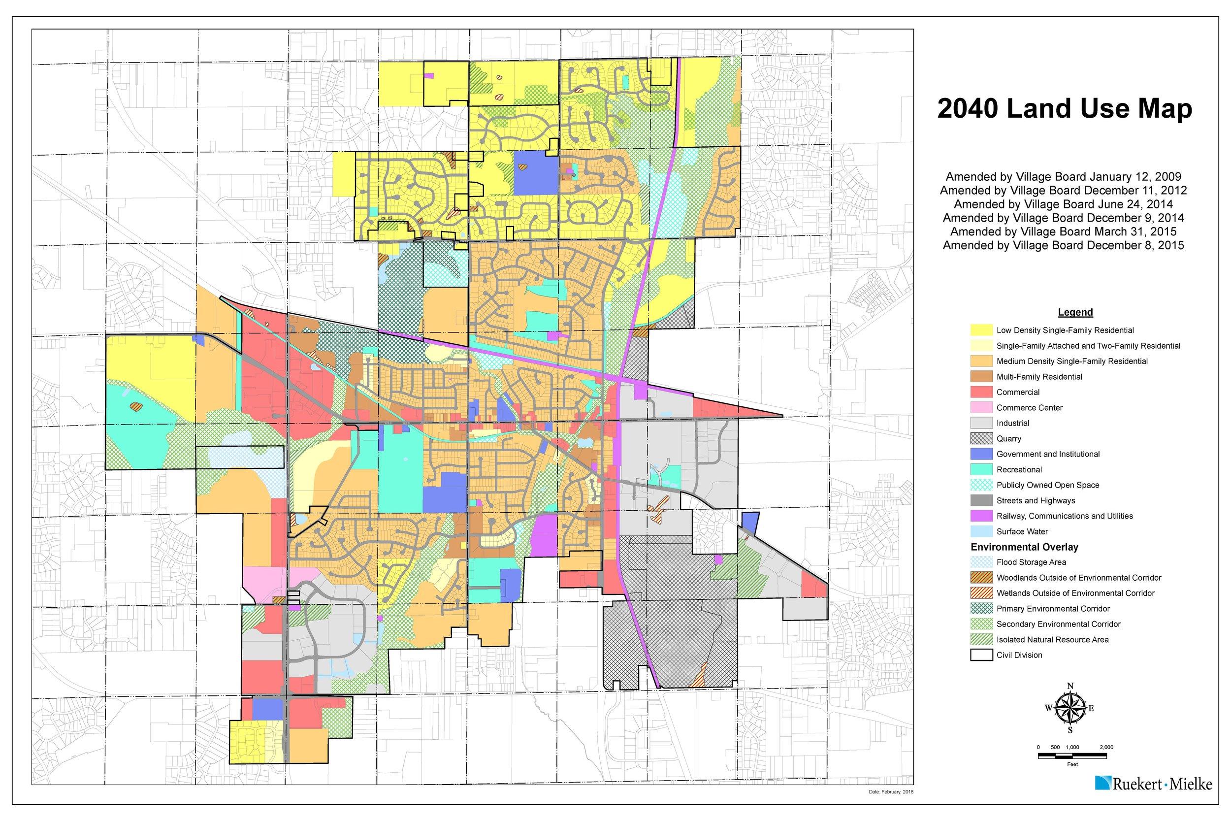 2040 Land Use Map