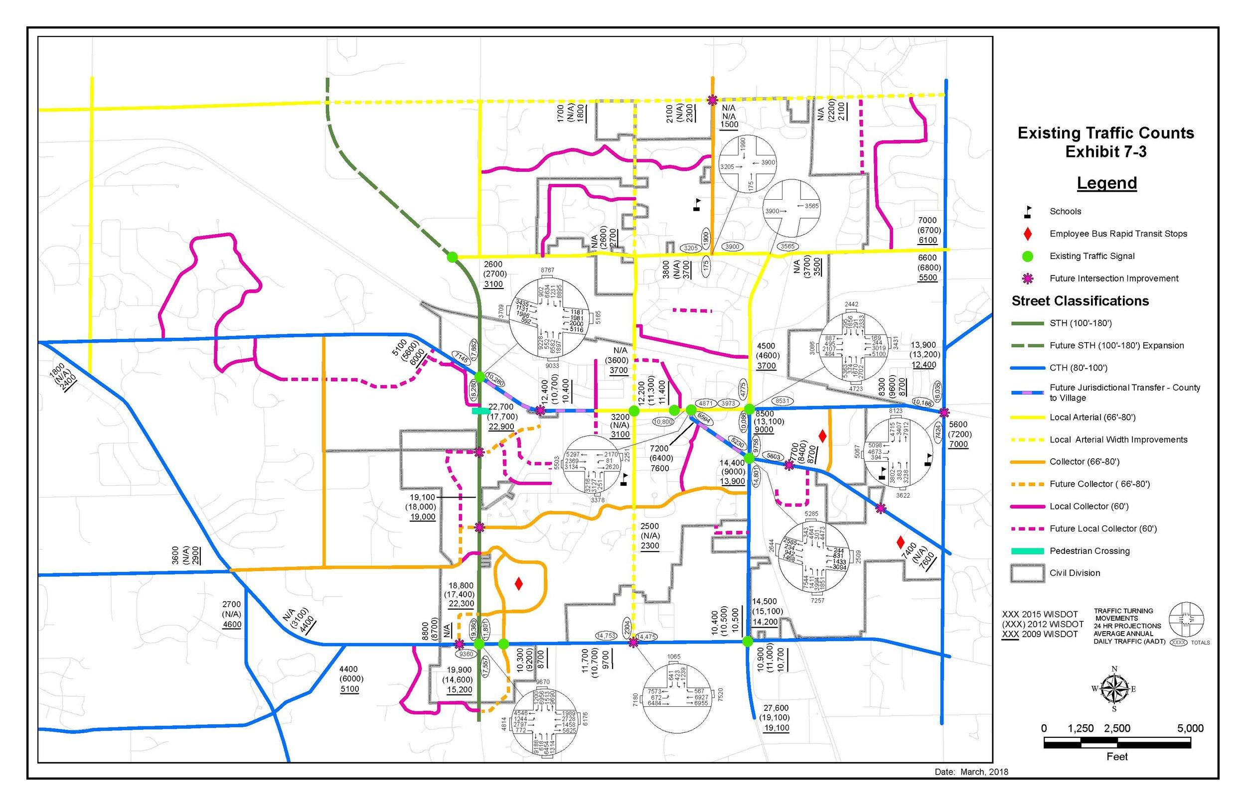 Traffic Analysis Map