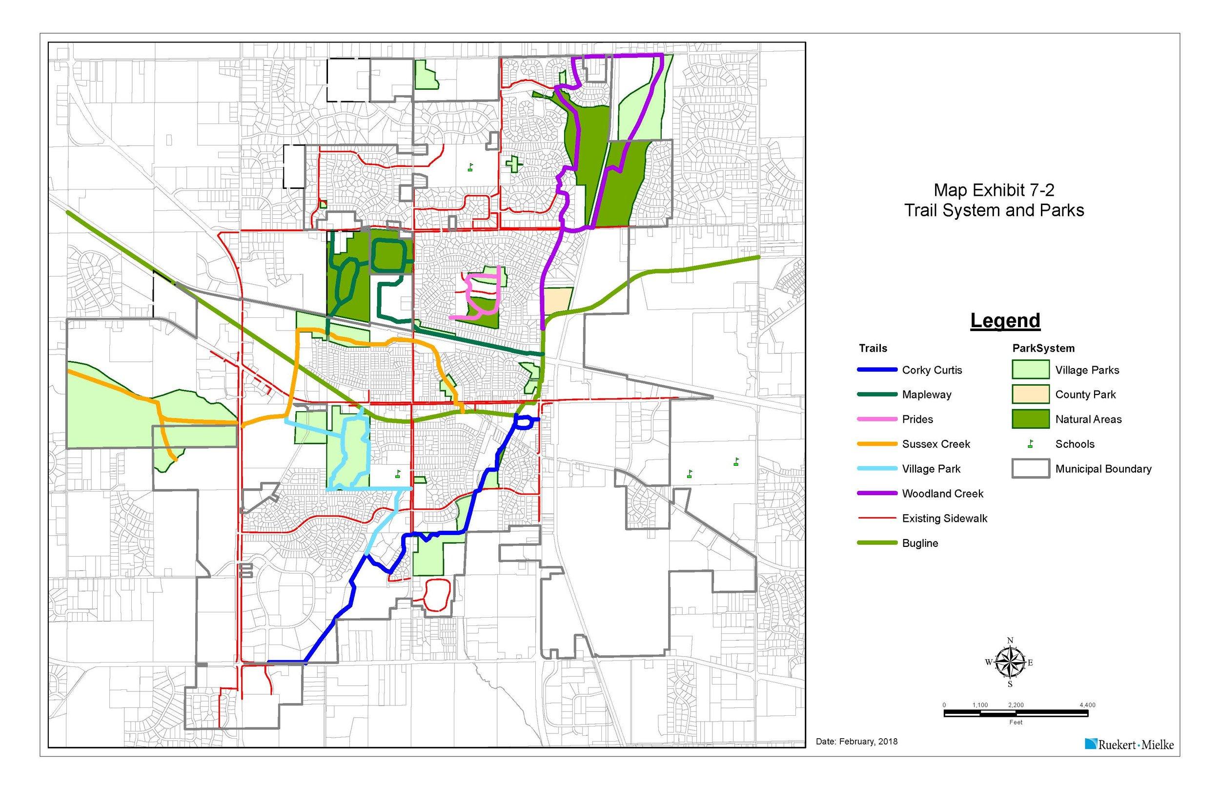 Trail & Park Map