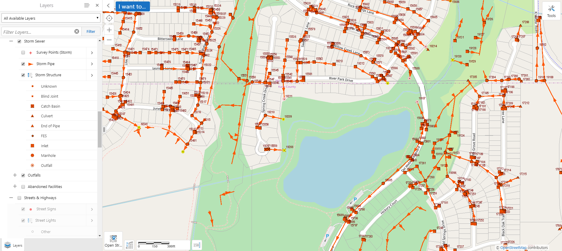 Storm Sewer Map