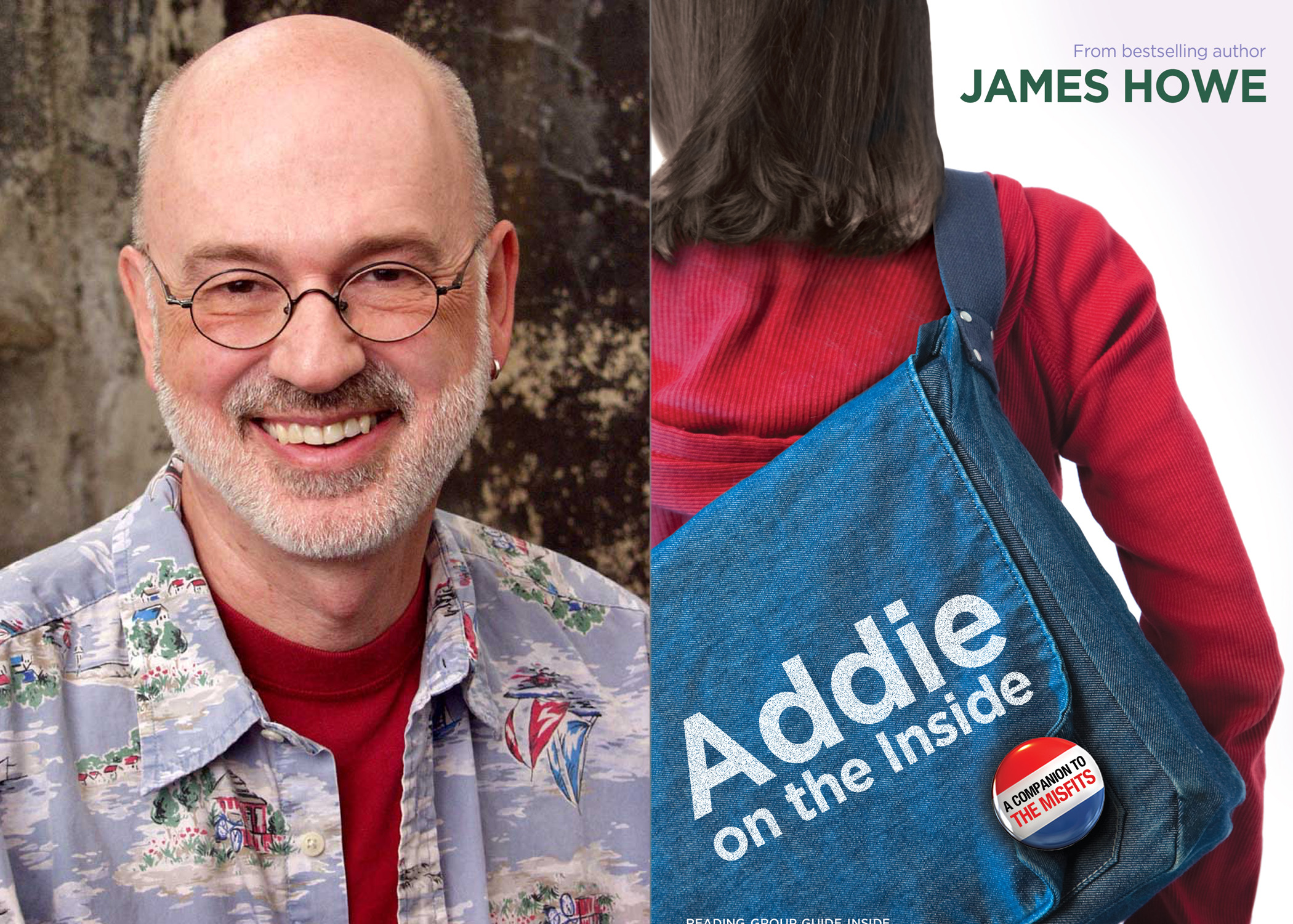 'Addie on the Inside' signed by James Howe