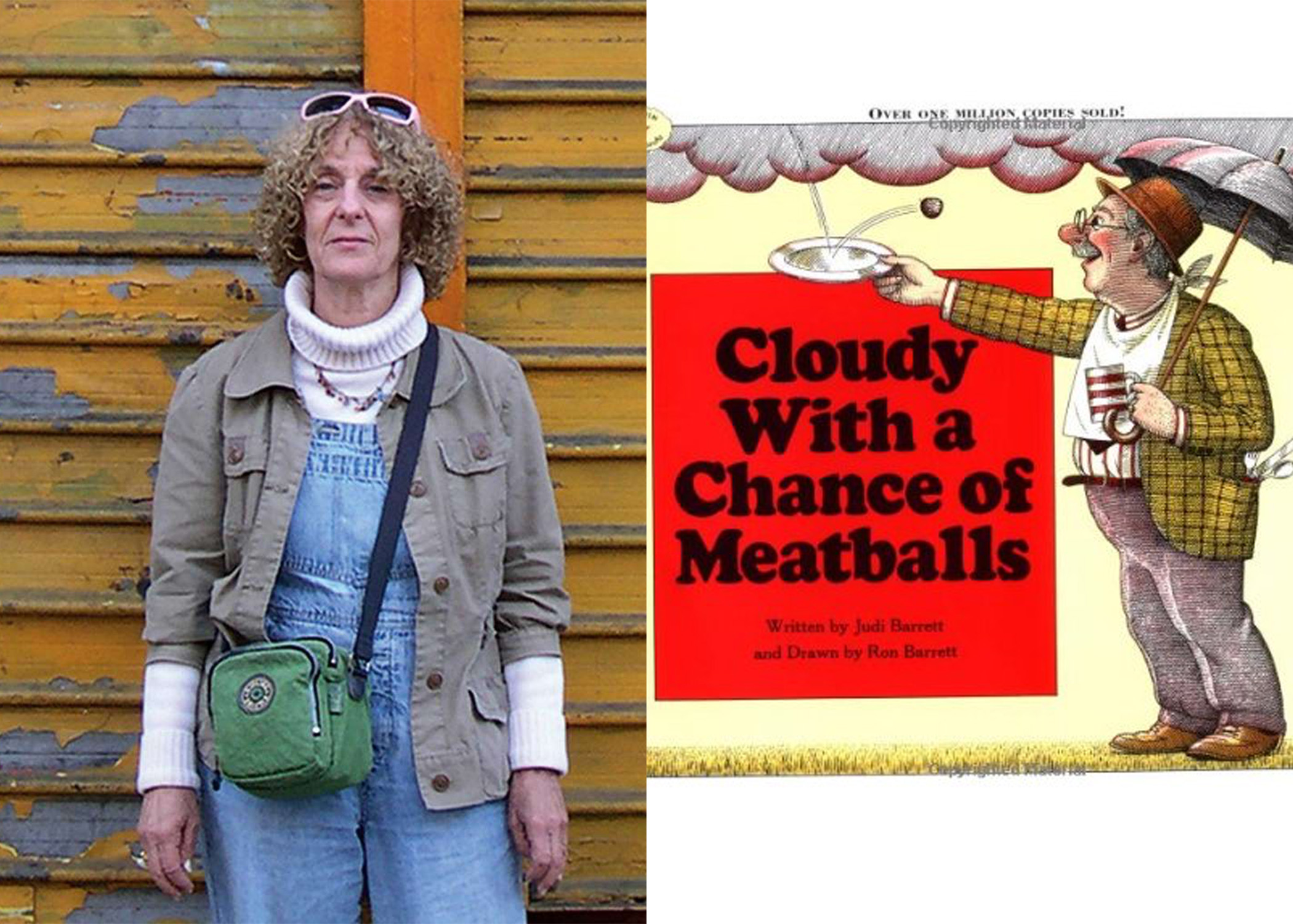 'Cloudy With A Chance of Meatballs' signed by Judi Barrett
