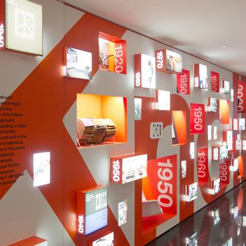 KNOLL TIMELINE AT KNOLL HEADQUARTERS, NYC