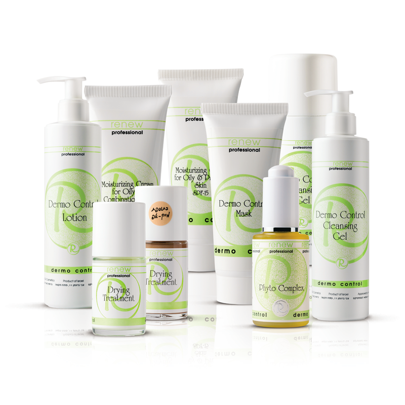 DERMO CONTROL - SARJA - Tämä sarja on suunniteltu ehkäisemään ja korjaamaan rasvaisen ja akneen taipuvaisen ihon ongelmia. Se kiinteyttää ihokudosta ja estää tulehduksen aiheuttavien bakteerien toimintaa. DERMO CONTROL sisältää antiseptisiä ja ihoa rauhoittavia aineita, jotka vähentävät talirauhasten toimintaa, palauttavat ihon omat suojaominaisuudet ja auttavat puhdistamaan ihohuokosia talinerityksestä. Näkyvä tulos saavutetaan lyhyessä ajassa.Hoidon hinta: 60€
