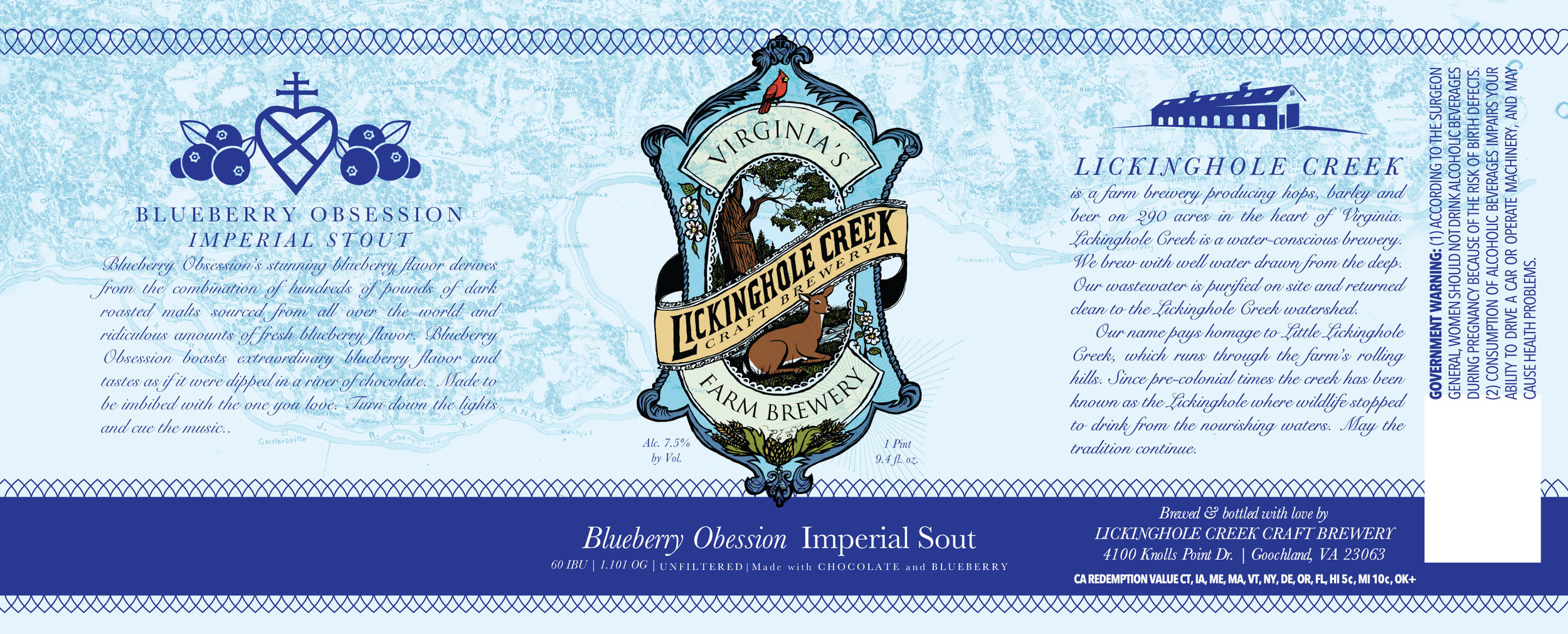 Blueberry Obsession Chocolate Stout 2018 Release