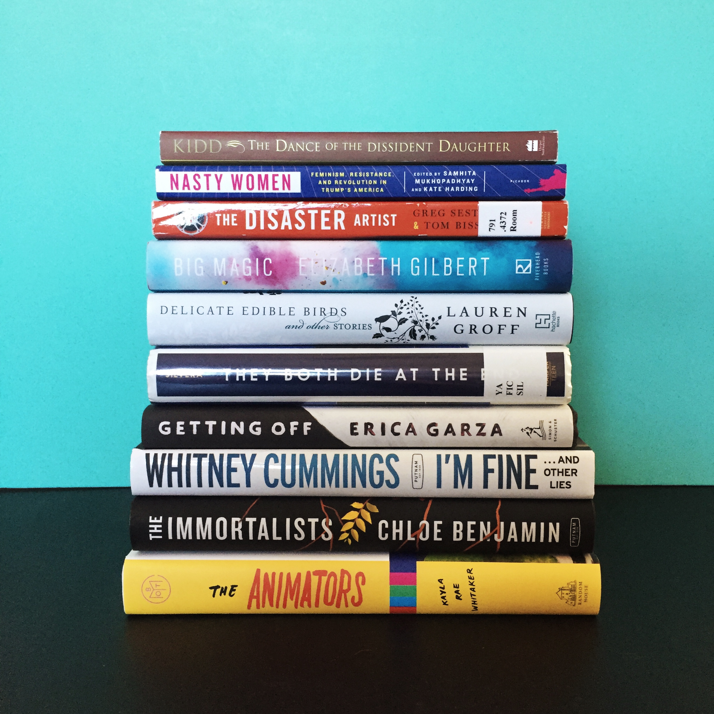 January 2018 Books