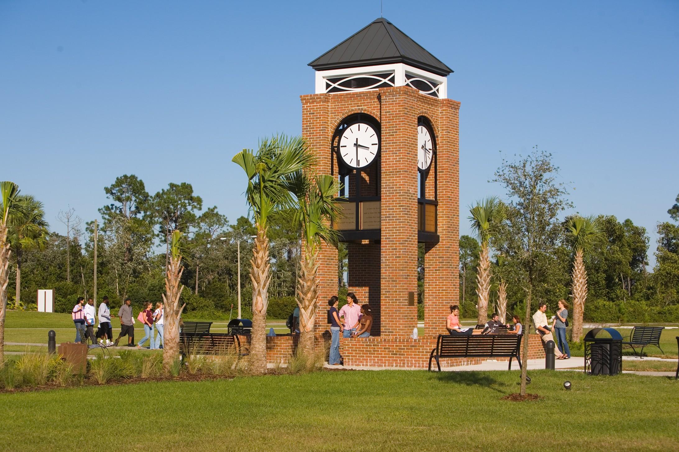 Michael W. Crews Memorial Clock Tower.jpg