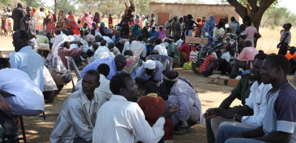 Pastors' conferences bring together and encourage the Nuba church.