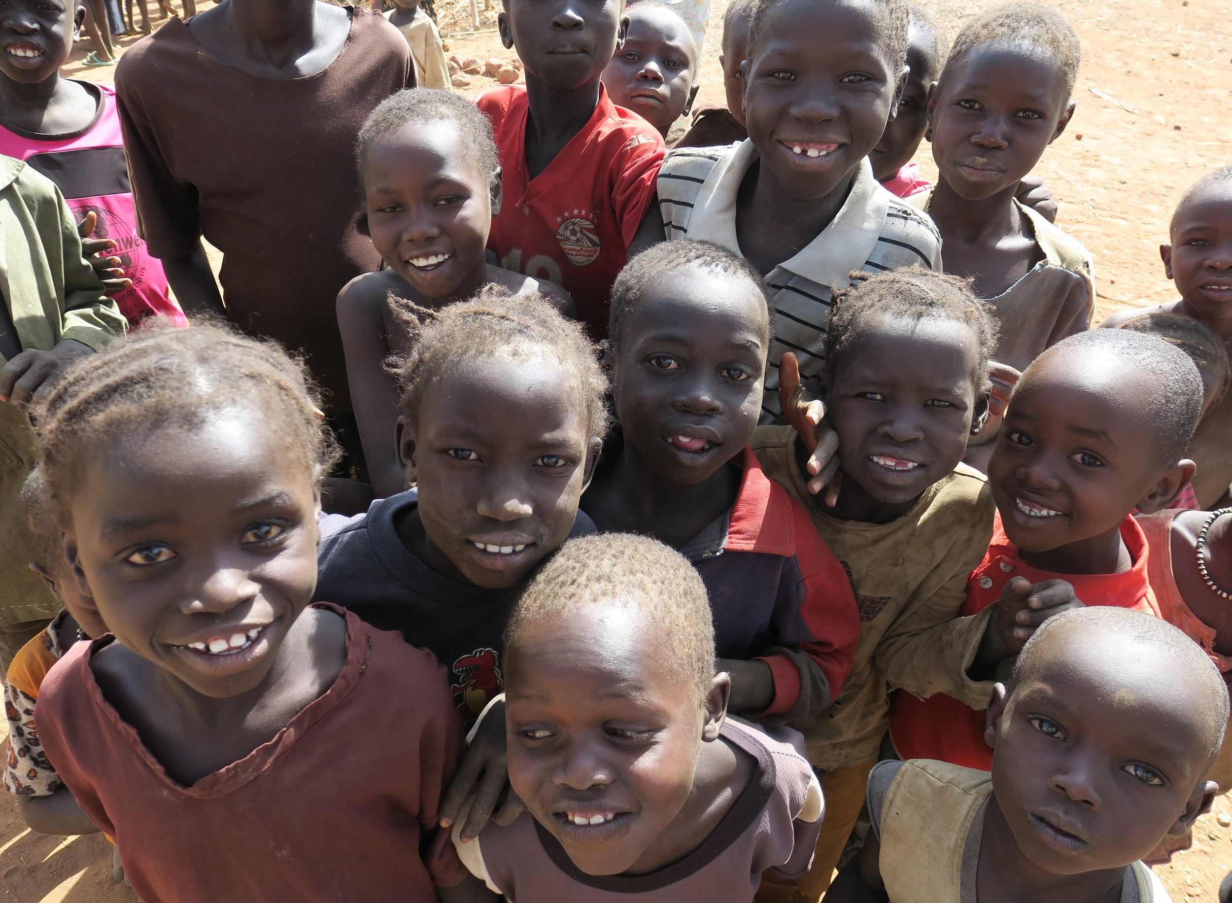 Prayer: - In Sudan, children are everywhere. Thank you for loving them.