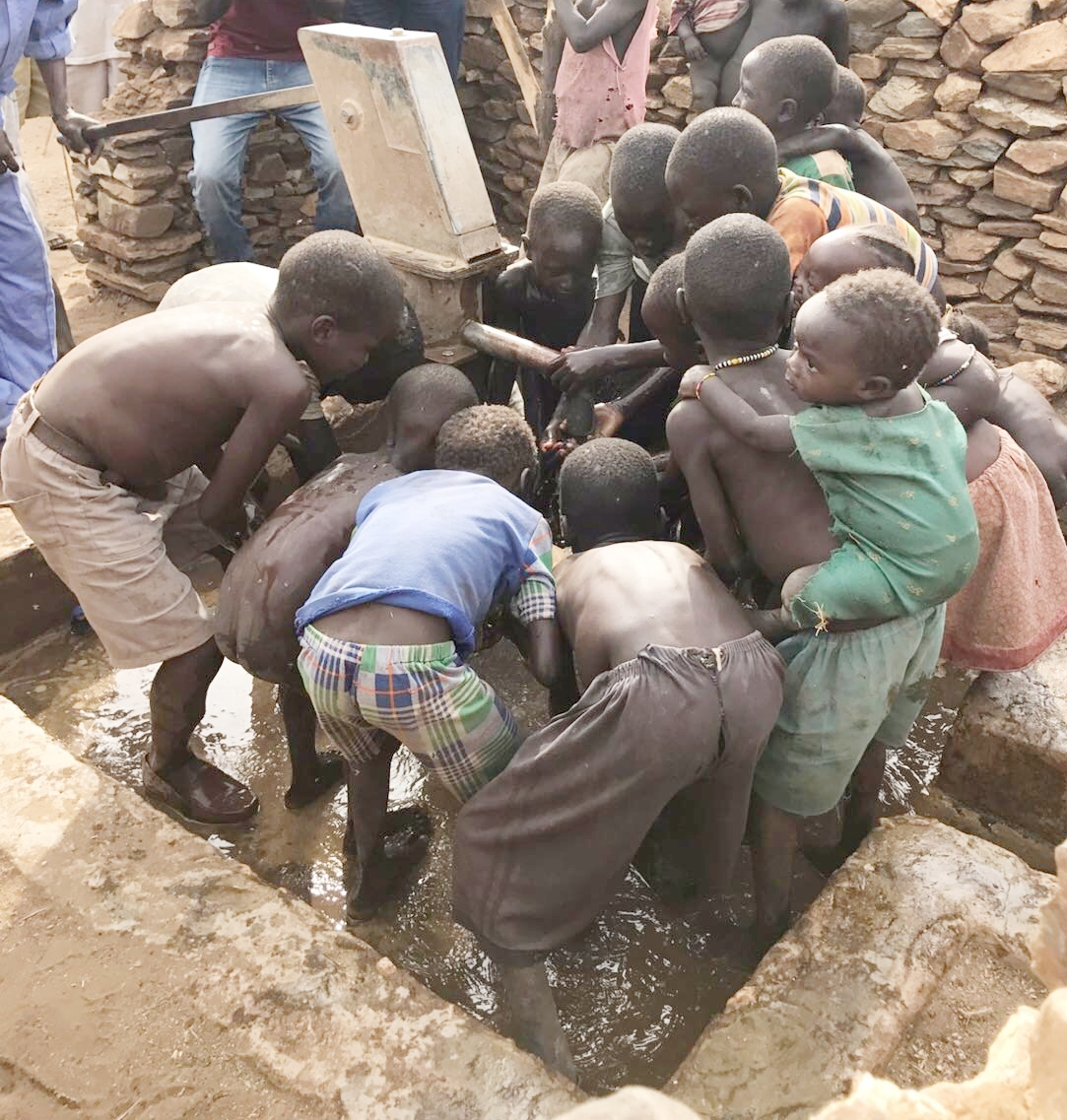 Celebrating clean water!