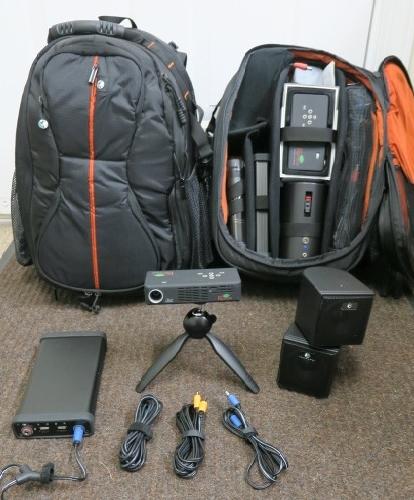 Backpack Projectors