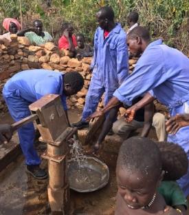 PPF Engineers Repair another Nuba Well.JPG
