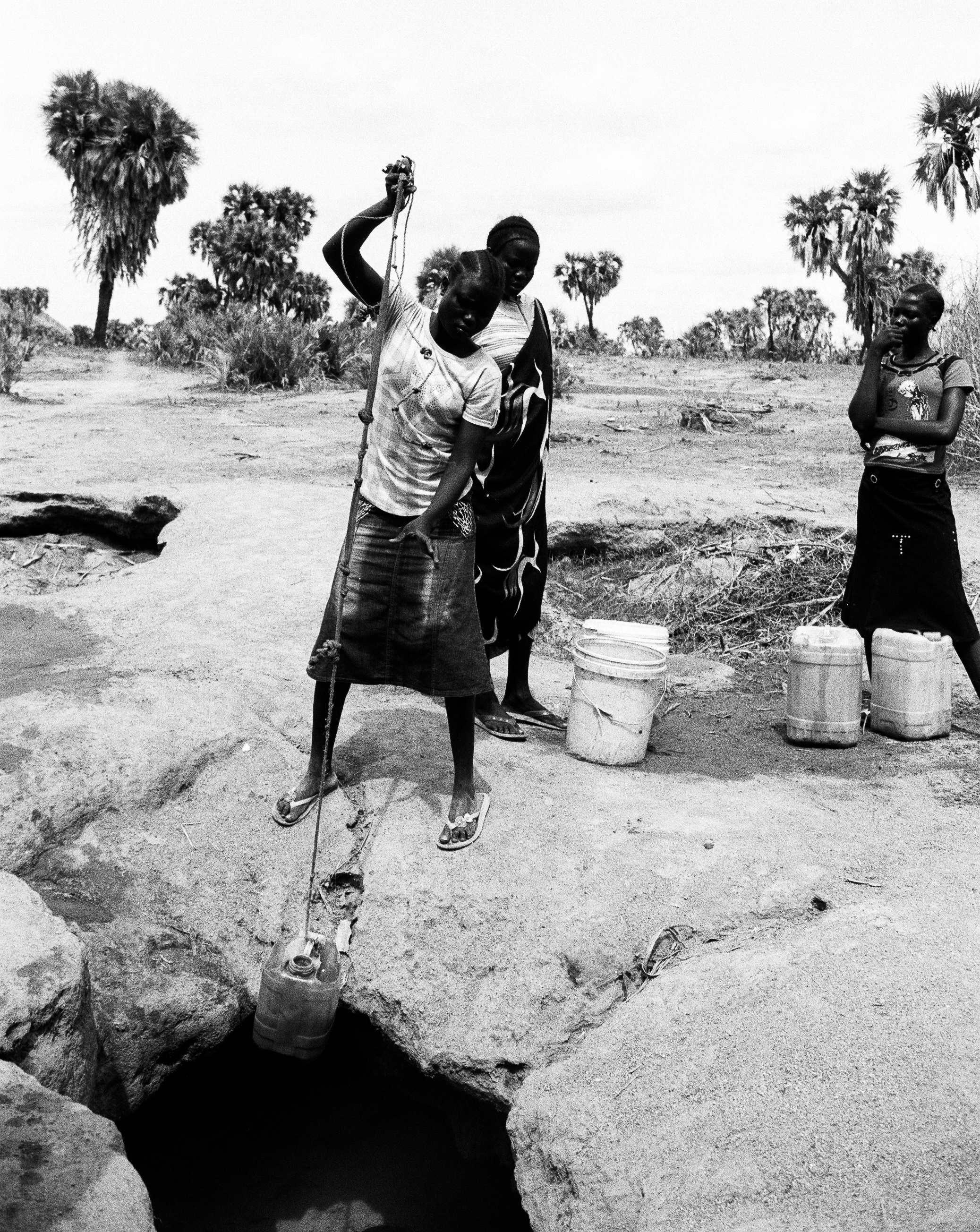 Without access to safe water