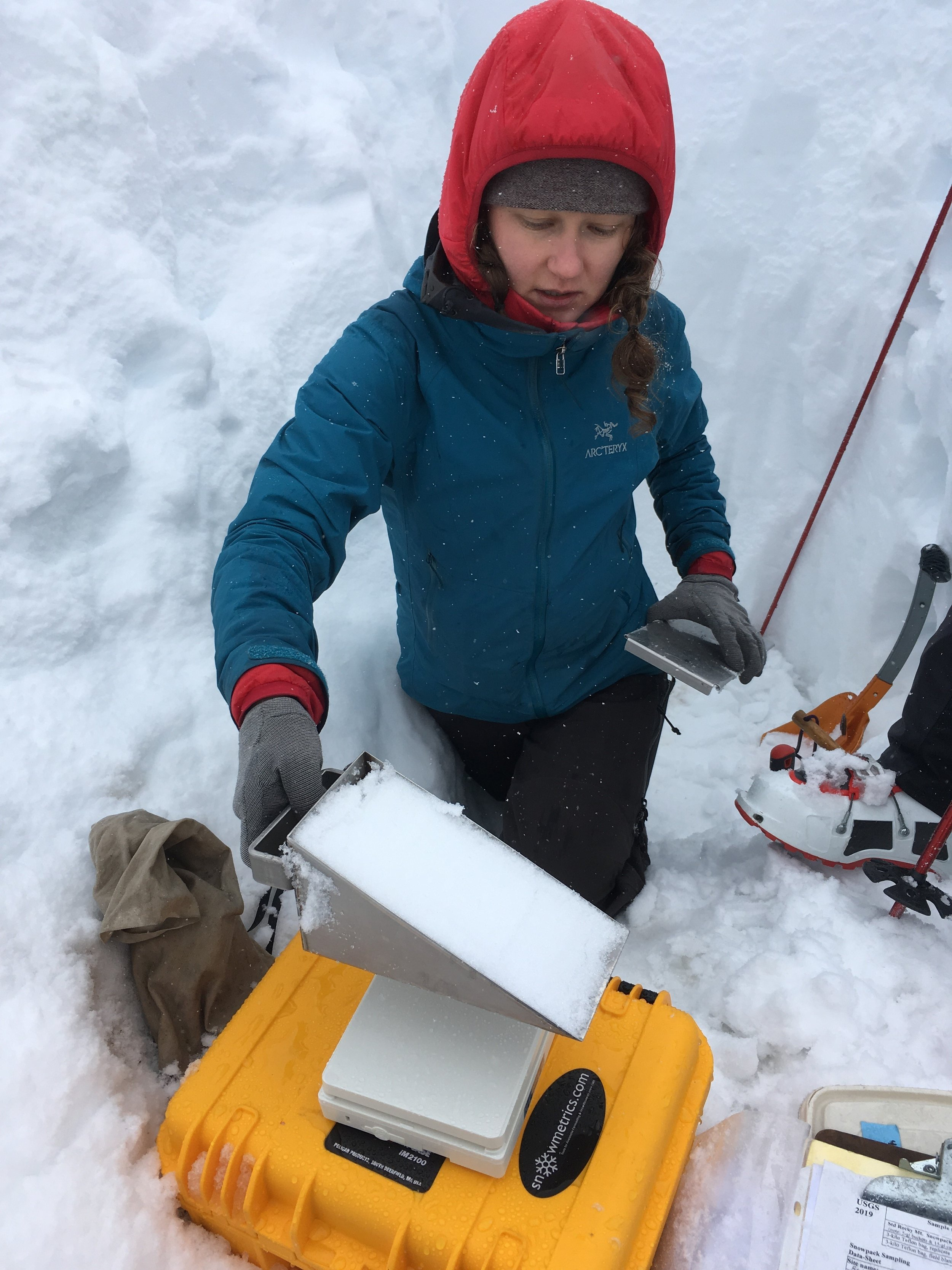 Phoebe measures Snow Water Equivalent (SWE).