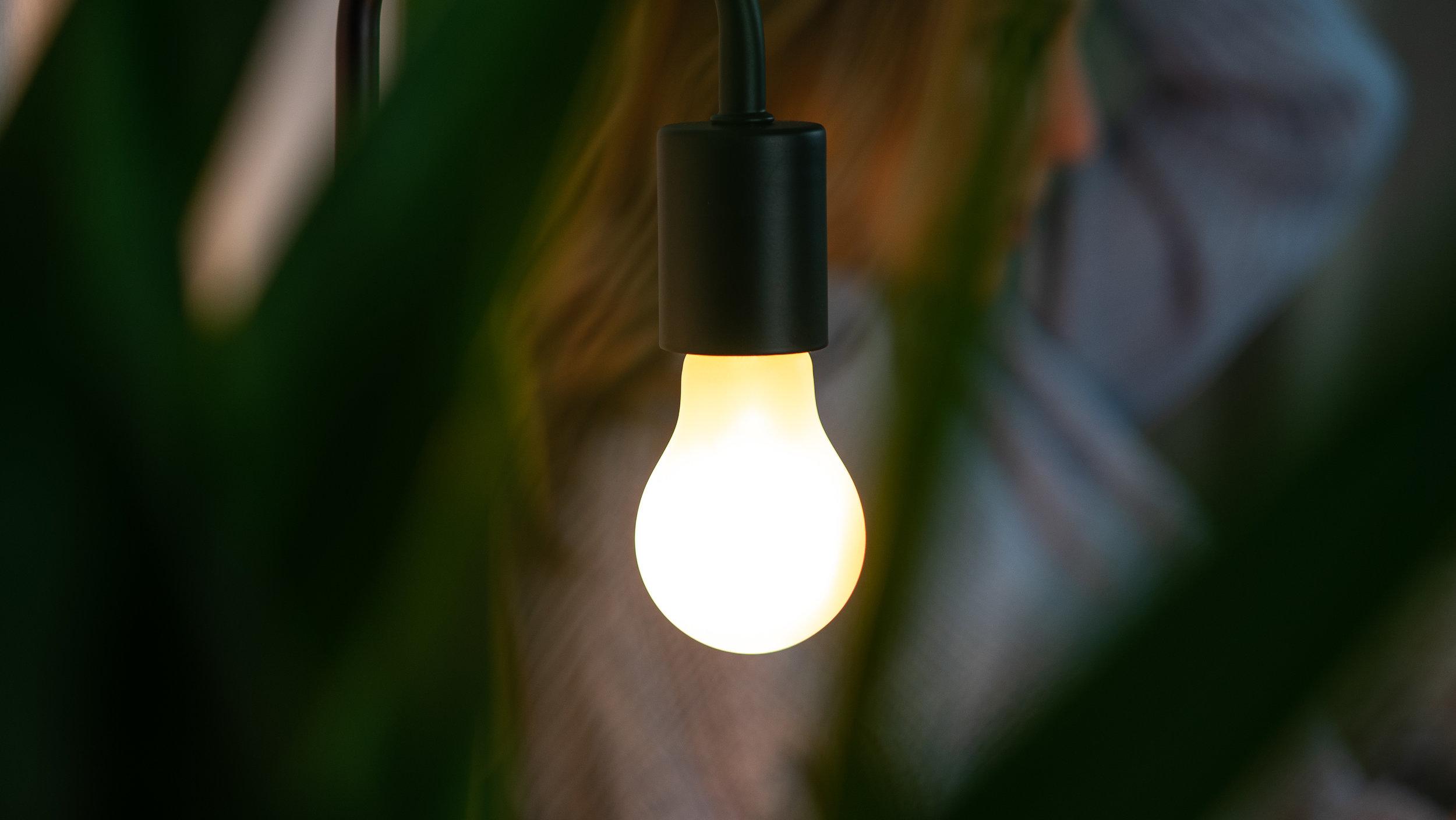 Bedtime Bulb Pendant