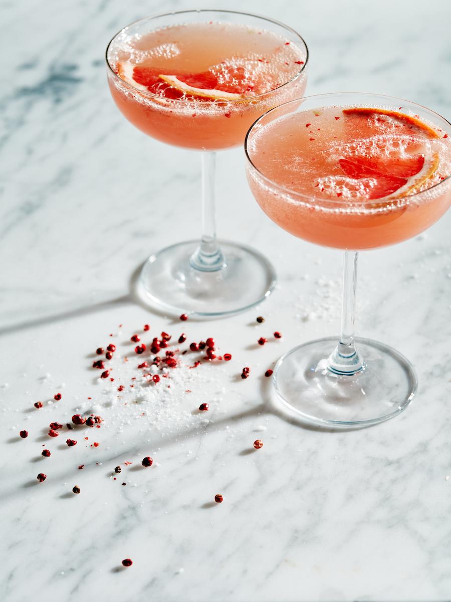 Pink Peppercorn Paloma