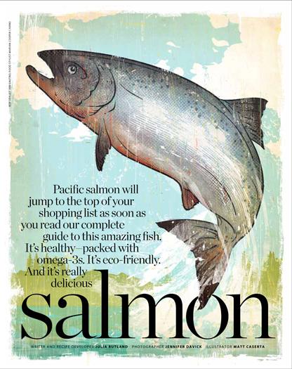Pacific Salmon Story Coastal Living by Jennifer Davick