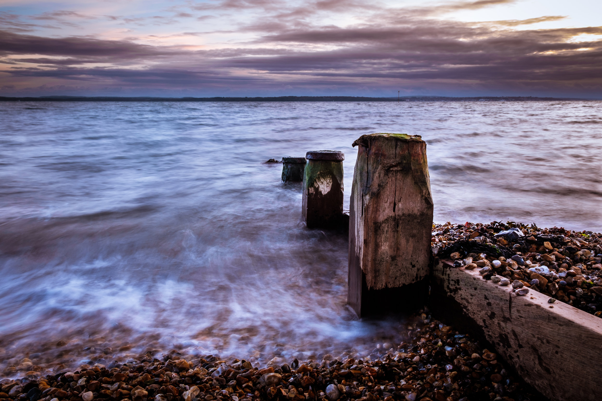 Hill Head Beach Sea Defences [1/2] - Lee-on-the-Solent, UK