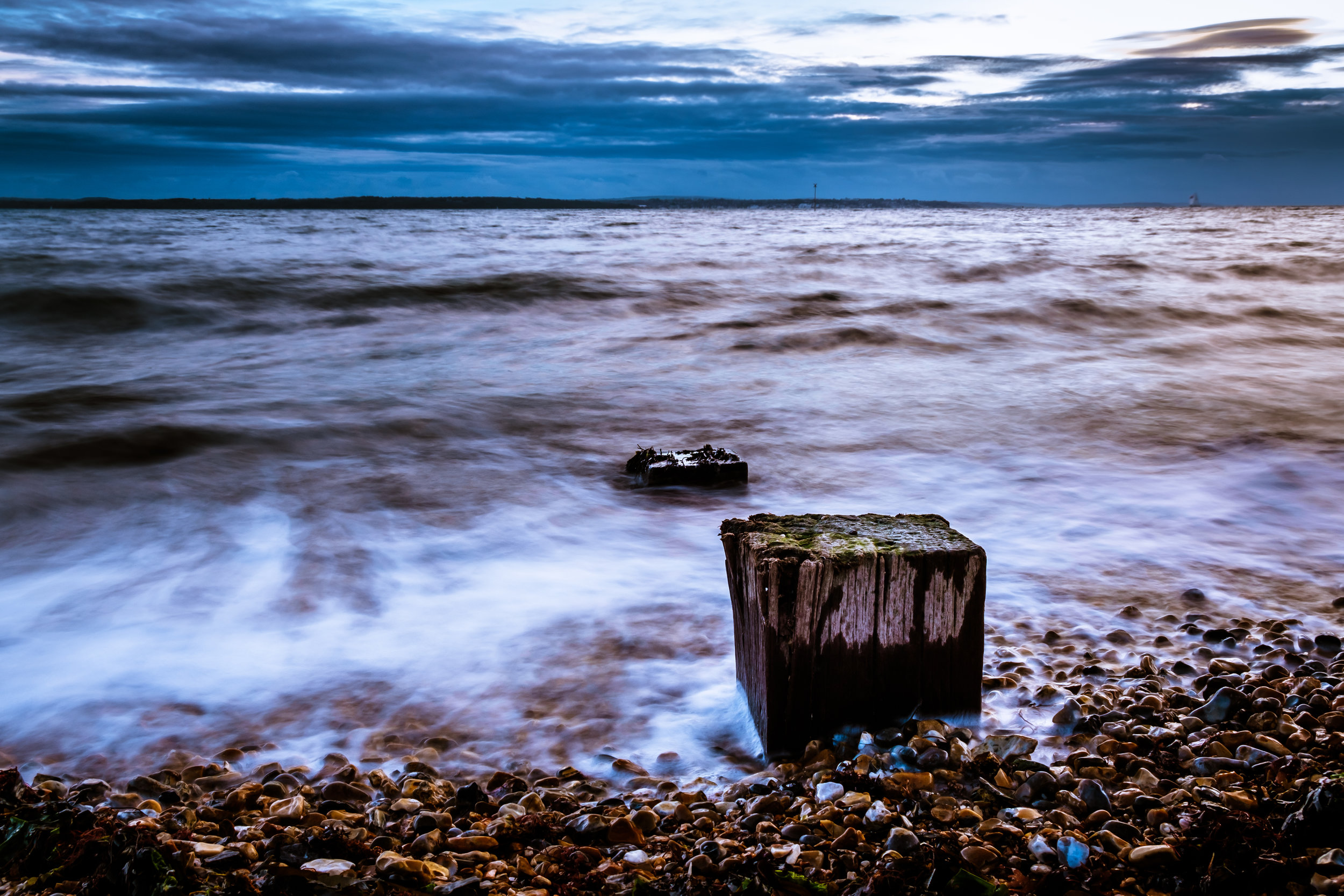 Hill Head Beach Sea Defences [2/2] - Lee-on-the-Solent, UK