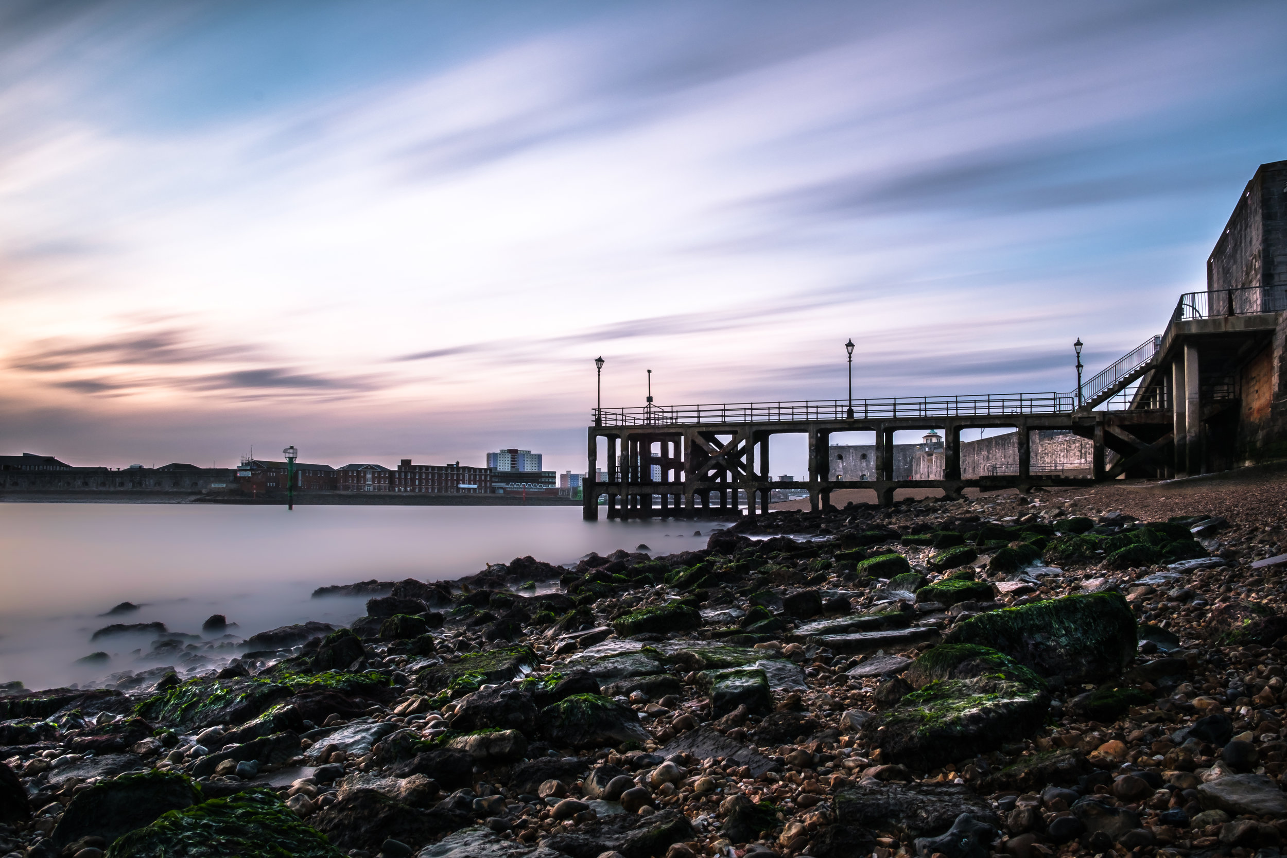 A Pier Behind the Rocks - Portsmouth, UK