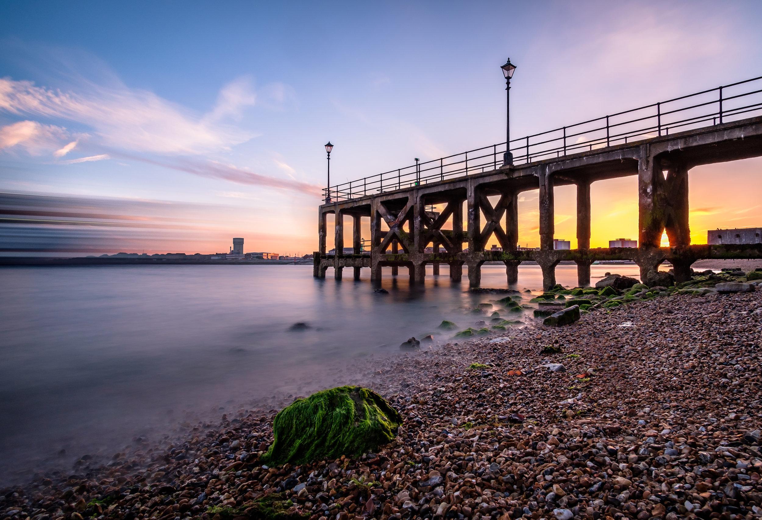 Victoria Pier - Portsmouth, UK.